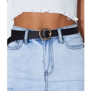 Accessories - Circle buckle belt